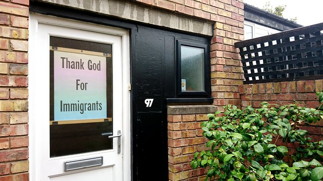 Thank God for immigrants