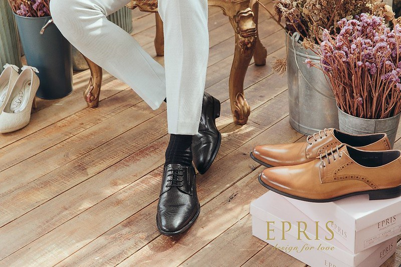 皮鞋 襪子 純棉 咖啡色皮鞋 深色襪子 結婚皮鞋