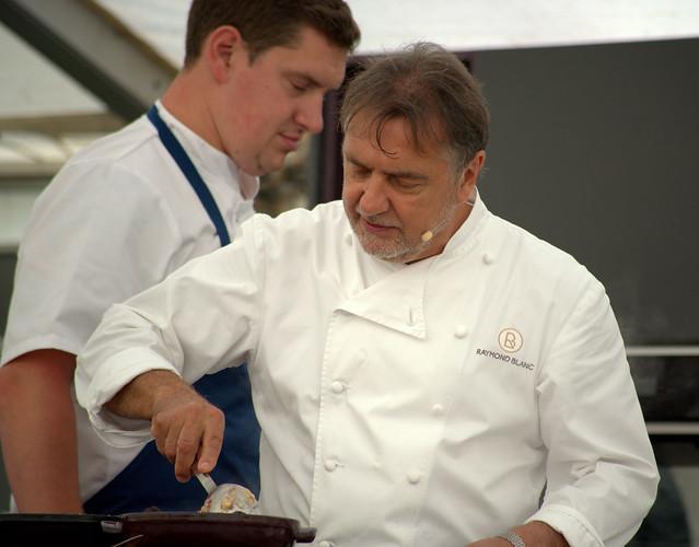 Chef Raymond Blanc in Liverpool