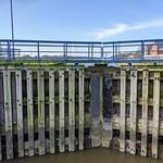 Dock gates at Preston