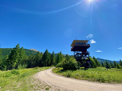 Lookout Tower on Rumble Creek