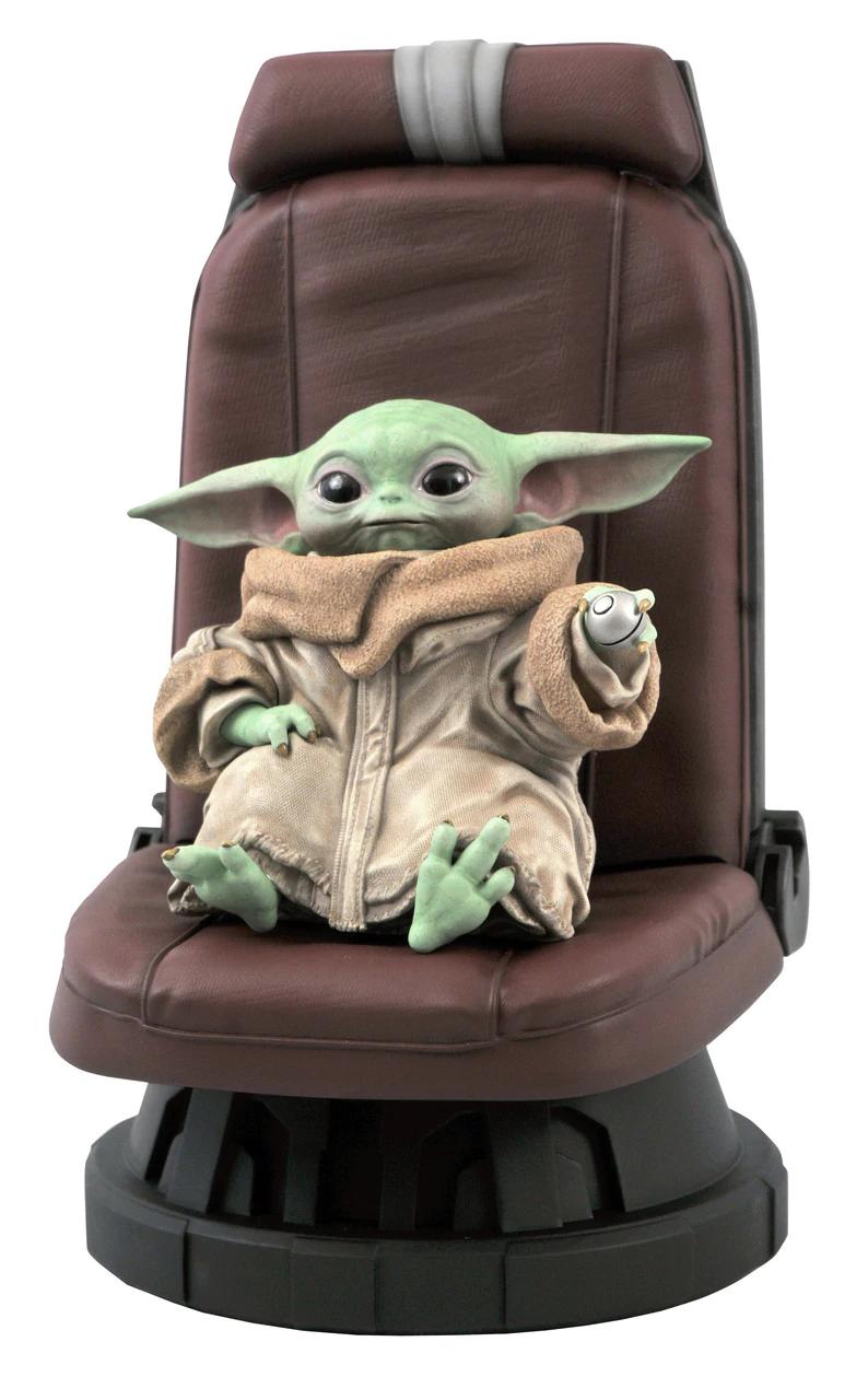 Gentle Giant《曼達洛人》駕駛椅上的孩子 1/2 比例雕像
