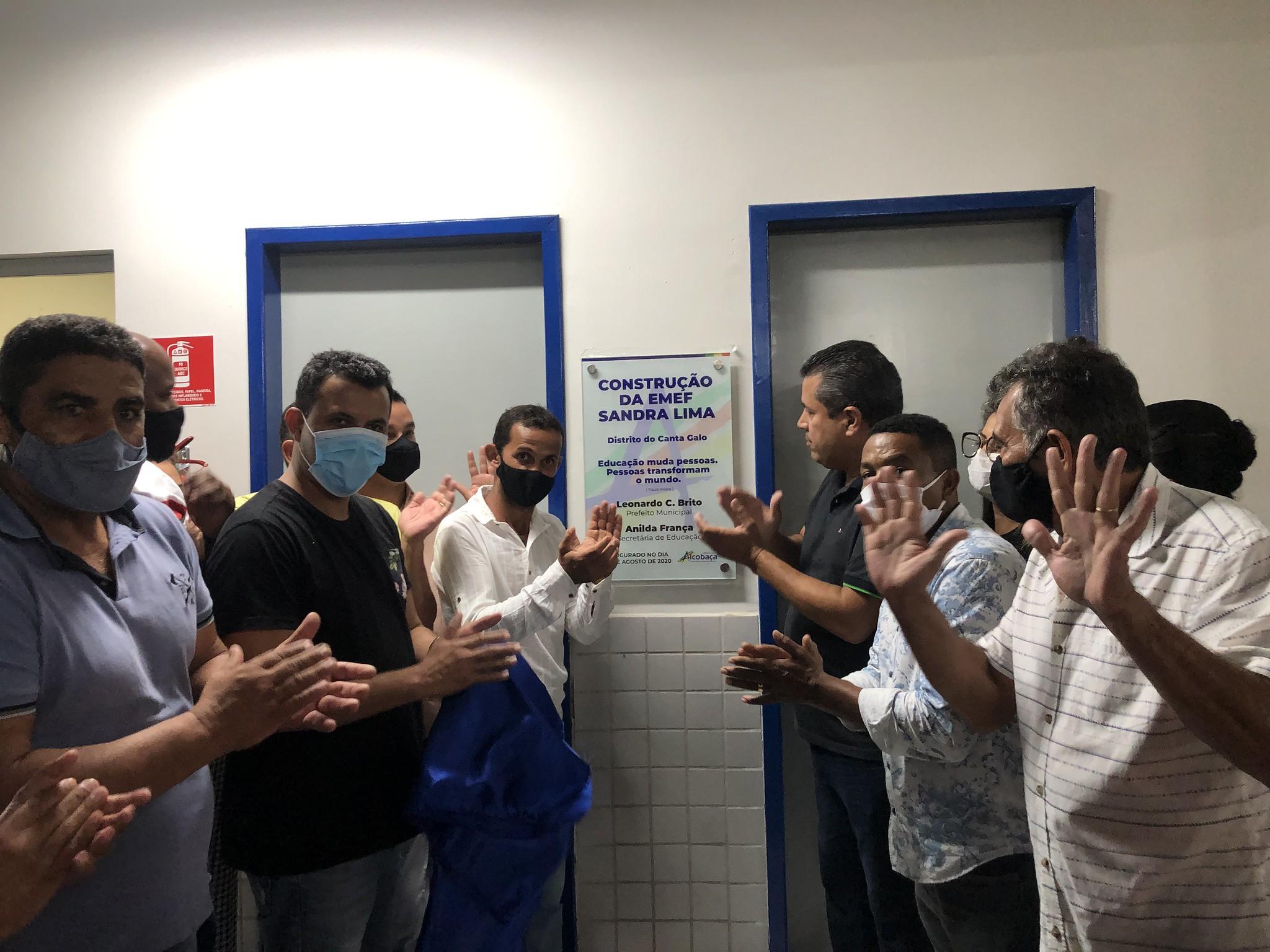 INAUGURA DA EMEF SANDRA LIMA NO CANTA GALO (538)