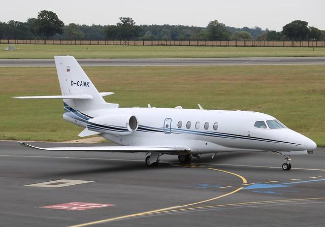 D-CAWK Cessna 680A Citation Latitude