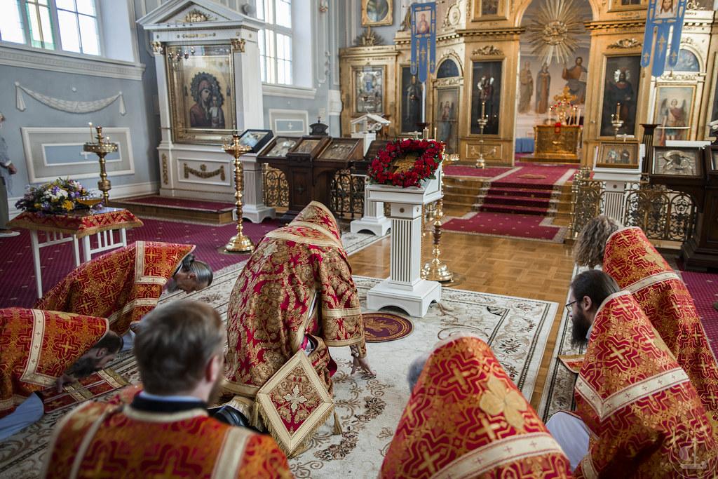 14 августа 2020, Происхождение  честных древ Животворящего Креста Господня / 14 August 2020, Procession of the Precious Wood of the Life-giving Cross of the Lord