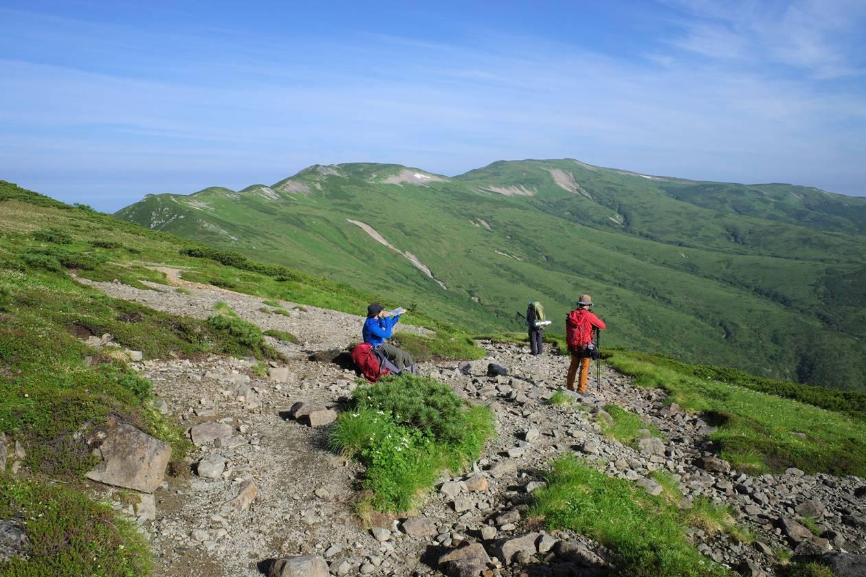 北アルプス・北ノ俣岳~黒部五郎岳の稜線登山