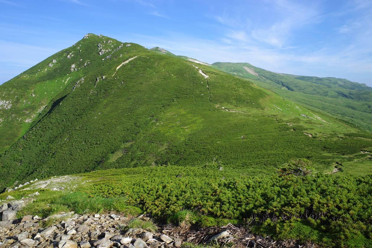北アルプス・赤木岳