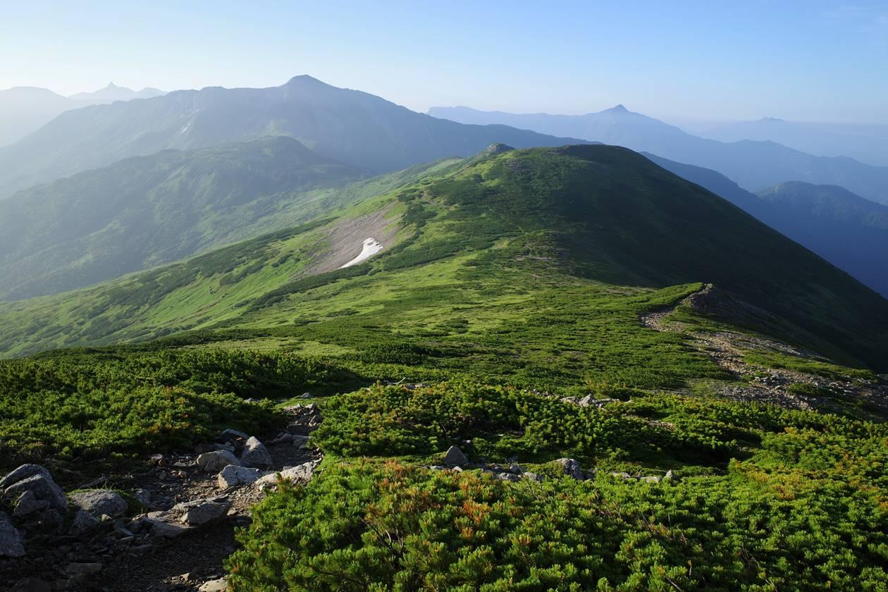 薬師岳~黒部五郎岳 1泊2日の縦走登山