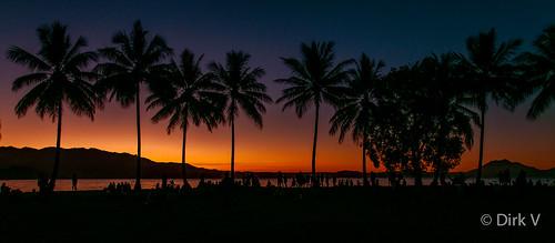 sunset rexsmealpark portdouglas australia