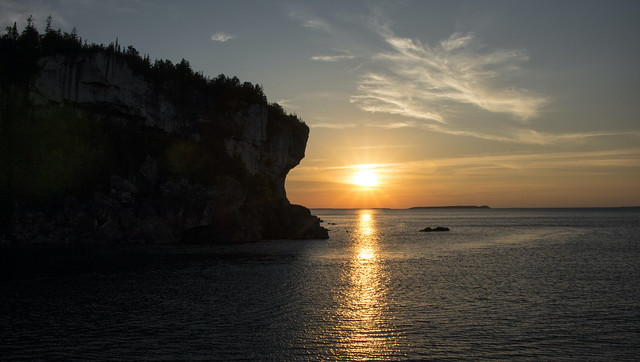 Georgian Bay Sunset, Lake Huron, the end of another beautiful day.