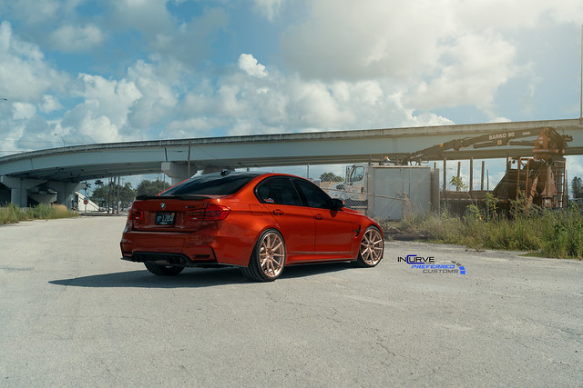 Incurve Forged Wheels IF-M10 Monoblock | F80 M3