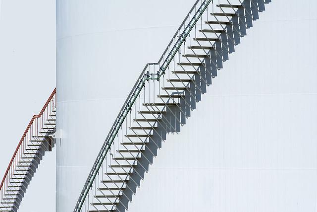 Two stairways (on Explore)