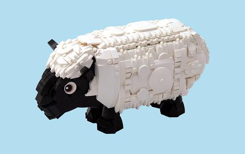 Un Mouton Anglo-Français Baa-aa Baa-aa