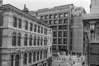 Highwalk, View, Old Broad St, City, 1987 87-11a-24-positive_2400