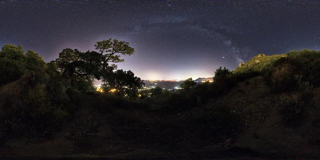 Milky Way on the Rocks