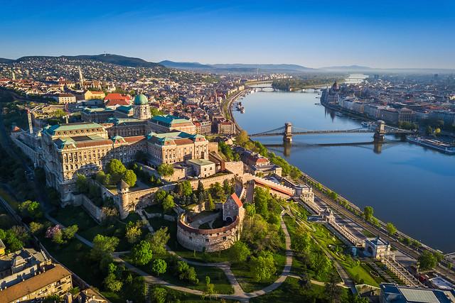 Vue sur Buda, à Budapest