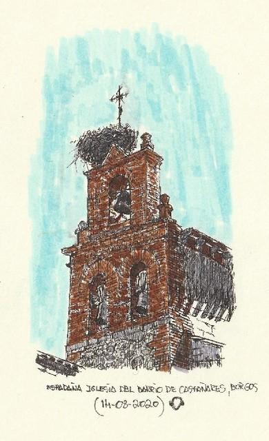 Burgos. Barrio de Castañares