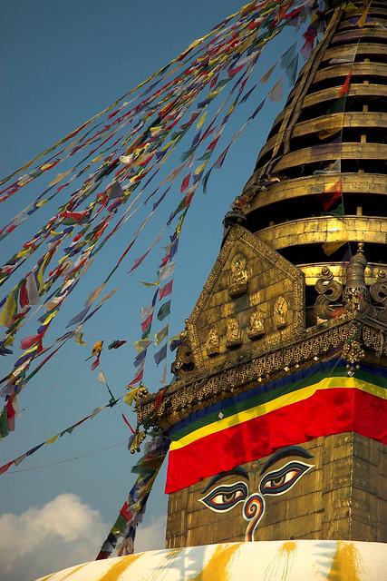 Nepal - Kathmandu - Swayumbunath Stupa