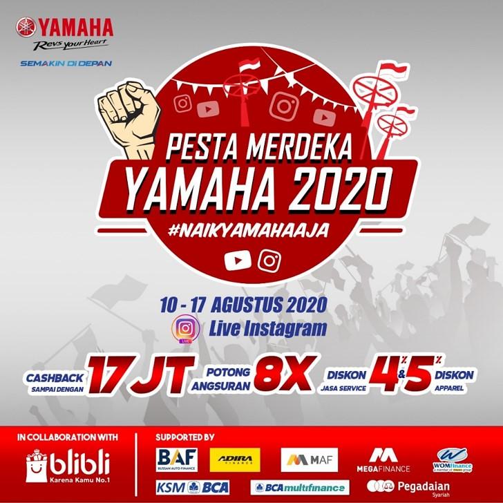 Promo Yamaha Pesta Merdeka