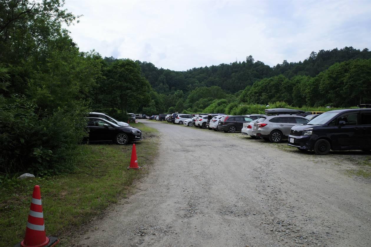 折立駐車場