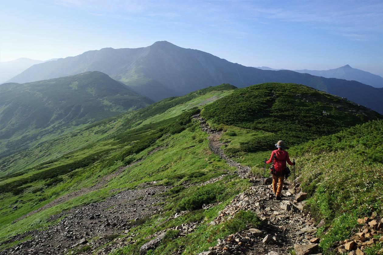 北アルプス・黒部五郎岳 夏の縦走登山