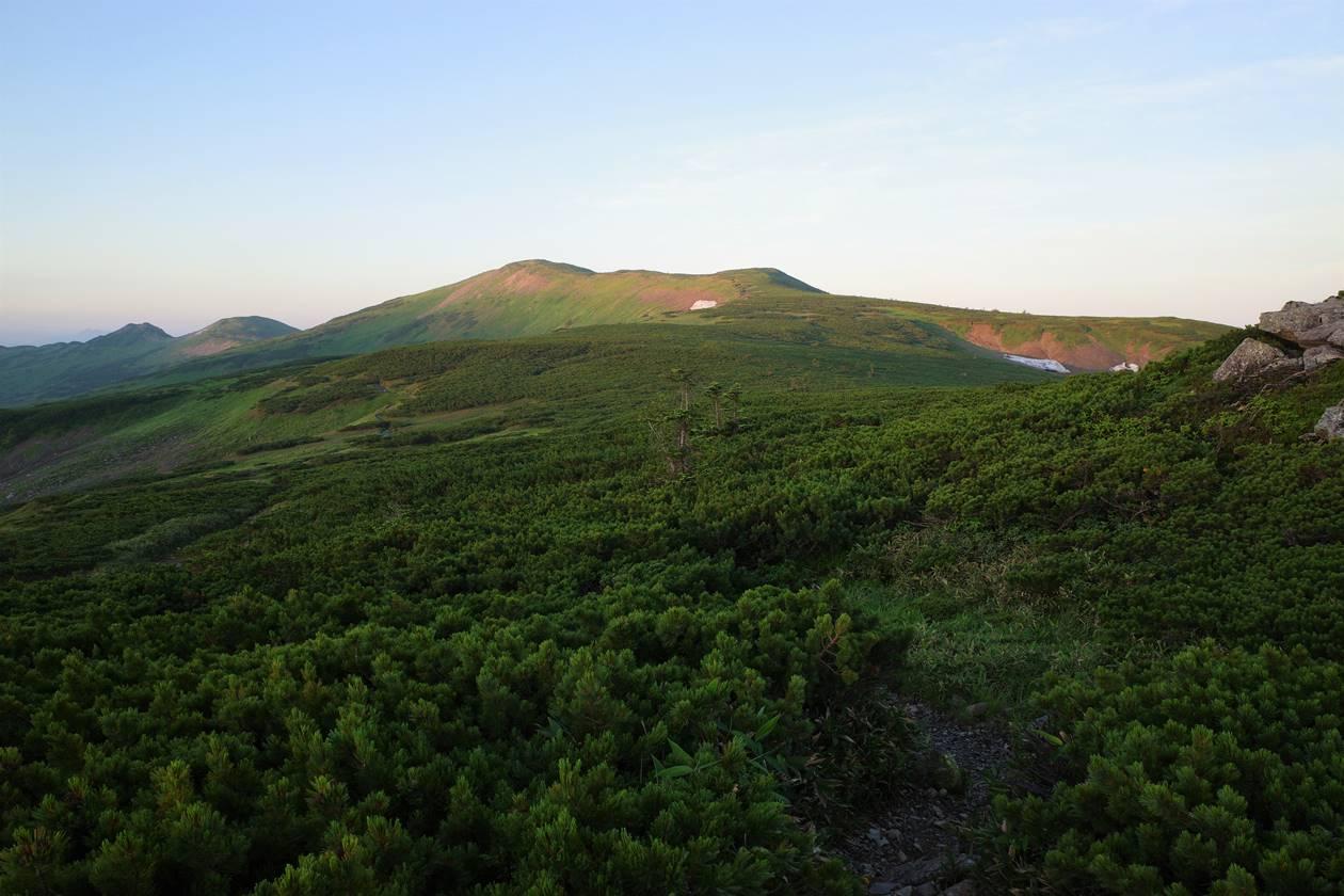 太郎平から眺める北ノ俣岳