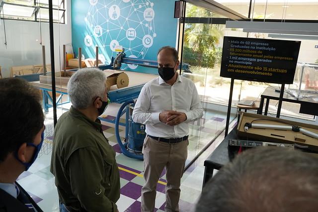 Ministro Marcos Pontes Visita o Inatel