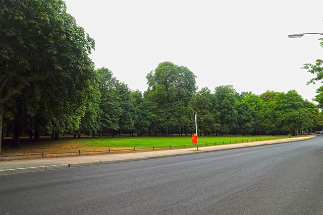 Am Zeltenplatz im Tiergarten