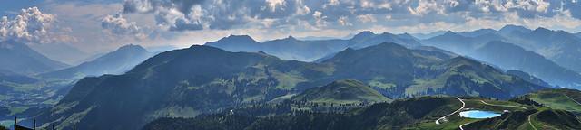 Kitzbühel | Kitzbühler Horn view .....