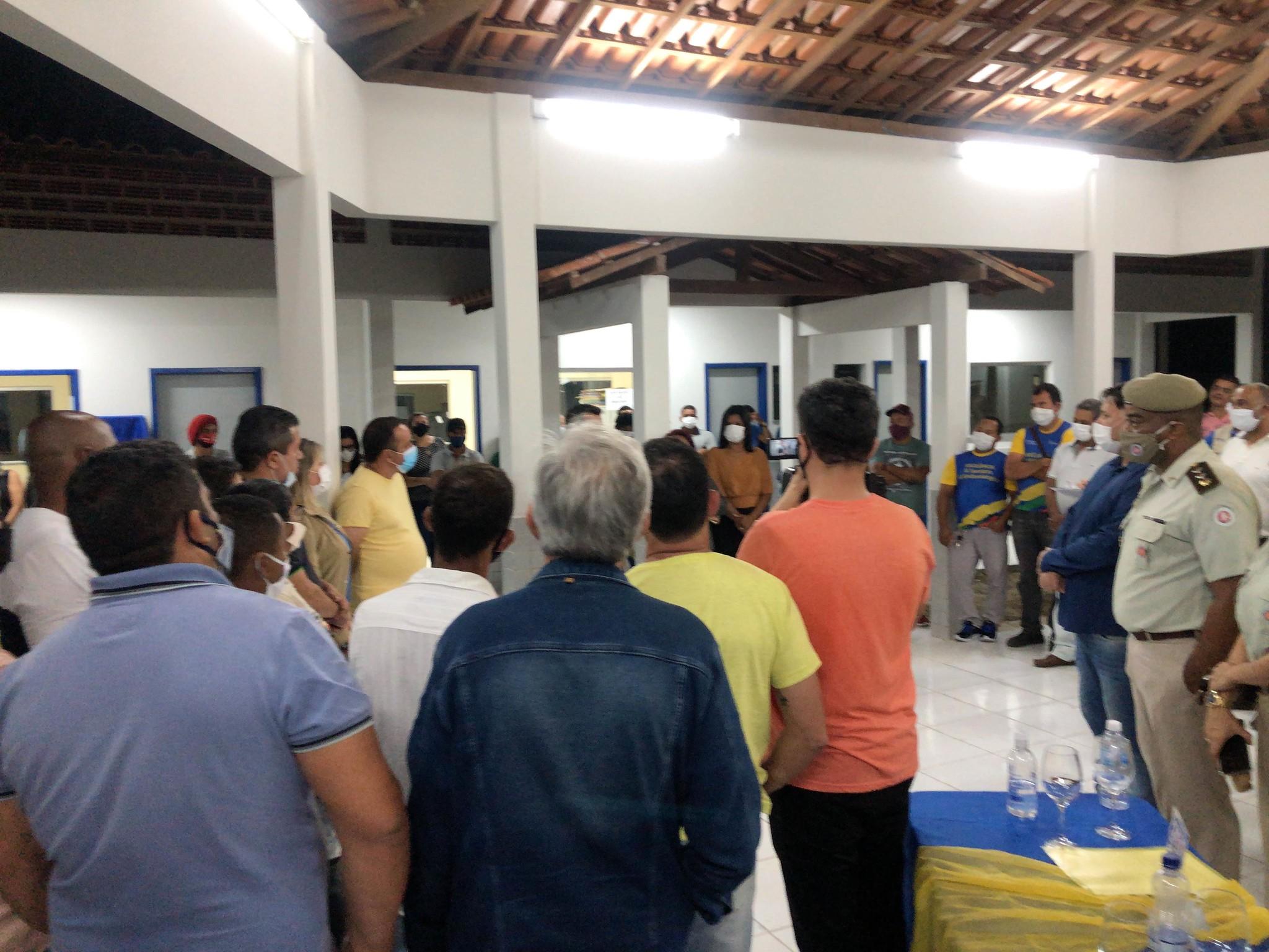 INAUGURA DA EMEF SANDRA LIMA NO CANTA GALO (268)
