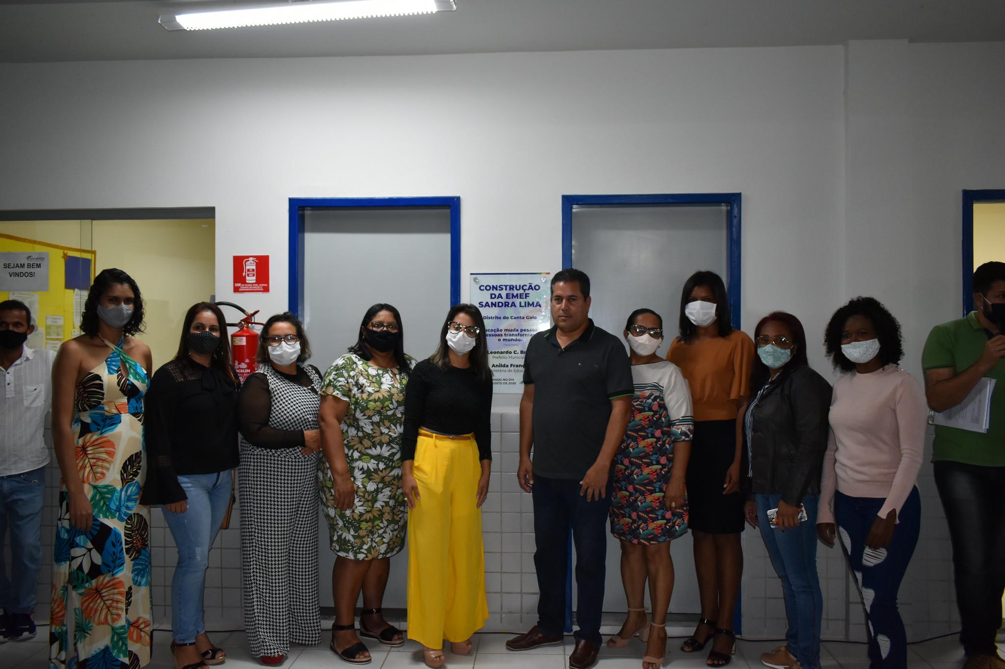 INAGURA DA EMEF SANDRA LIMA CANTA GALO (46)