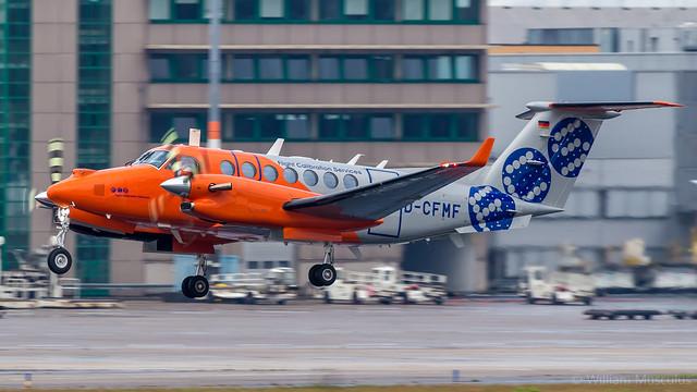 Beechcraft B350i King Air D-CFMF Flight Calibration Services