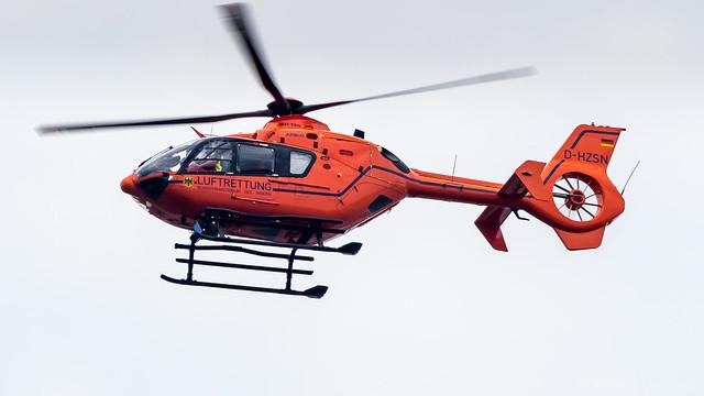 Eurocopter EC135 T2+ D-HZSN Bundesministerium des Innern (BMI)