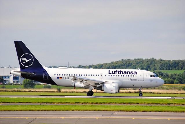 D-AILM LUFTHANSA A319-100