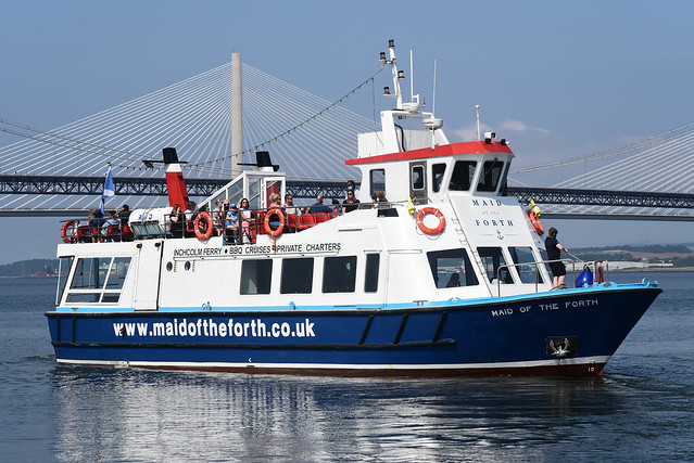 MV Maid of The Forth - South Queensferry - 12-08-20