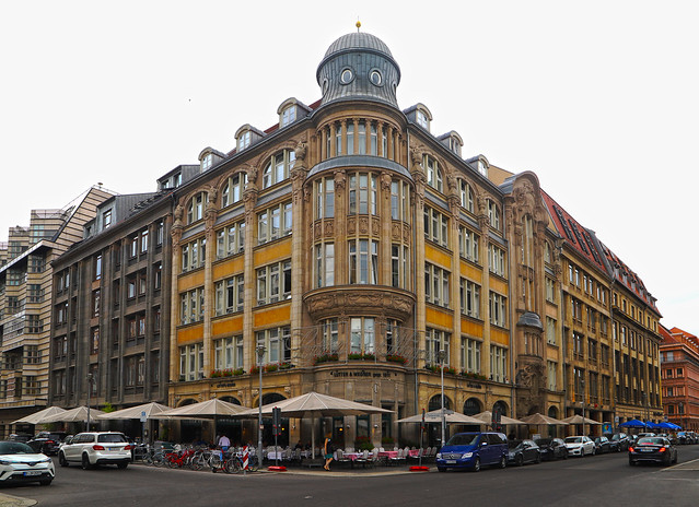 Ecke Charlottenstraße und Taubenstraße