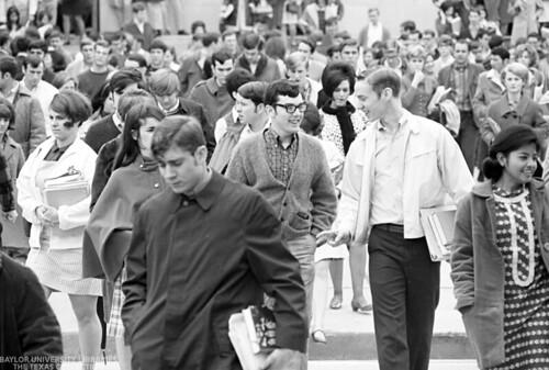 Baylor University Students-1968-69 Crowd (5)