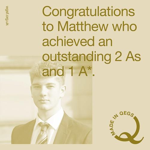Matthew Result
