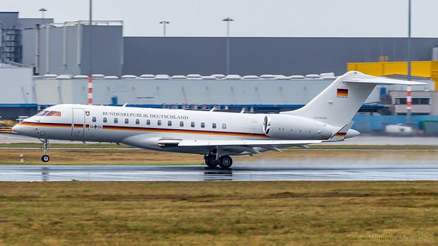 Bombardier BD-700-1A10 Global 6000 14+06 German Air Force
