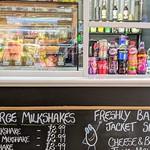 The new ice-cream stall at Preston Market