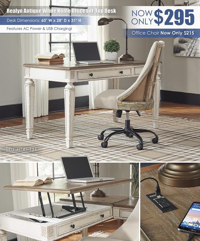 Realyn Lift Top Office Desk_H743-134