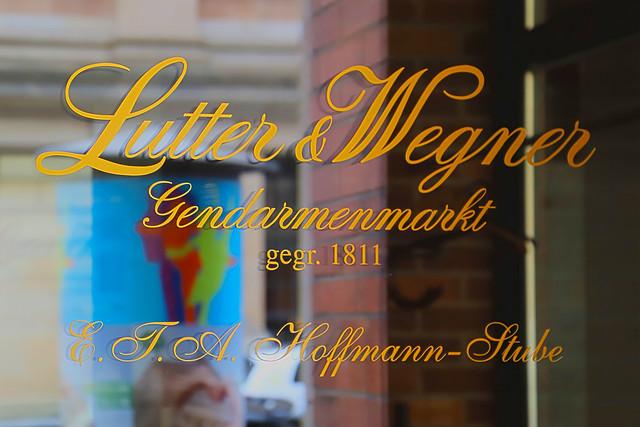 Lutter & Wegner Berlin - Die E.-T.-A.-Hoffmann-Stube
