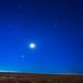 Winter Stars Rising at Dawn in August Panorama