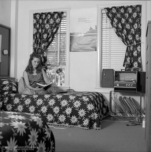 Baylor University Students-1970-71, Dorm Room 1