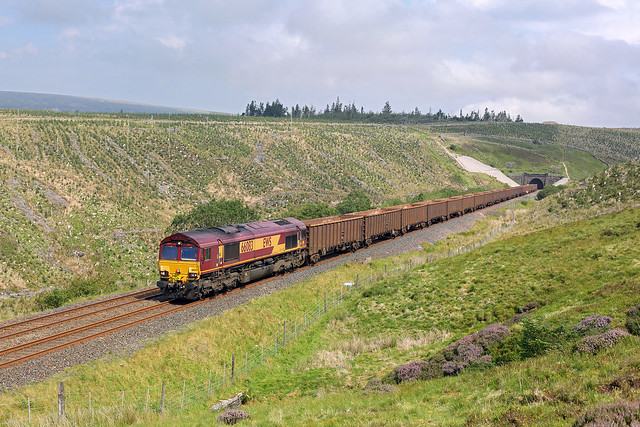 66083 Rise Hill tunnel 13th August 2020