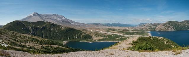 Mt St Helens Panorama