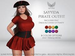 [Ari-Pari] Sayyida Pirate Outfit