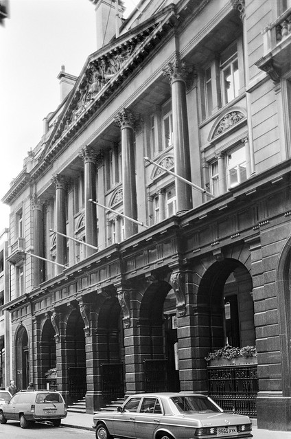 Baltic Exchange, St Mary Axe, City, 1987 87-11c-63-positive_2400