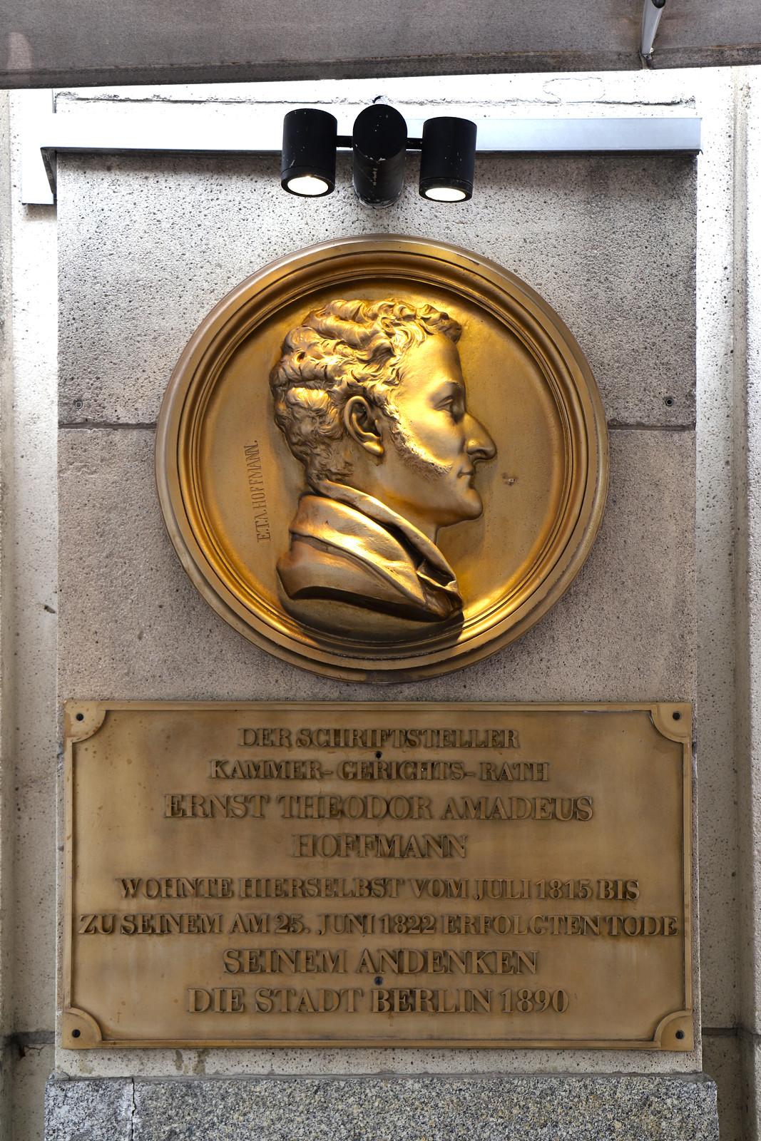 Gedenktafel für E. T. A. Hoffmann
