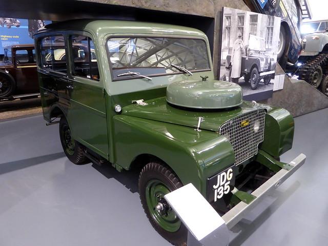 1949 Land Rover series I station wagon - JDG 135 - British Transport Museum Gaydon 11Aug20